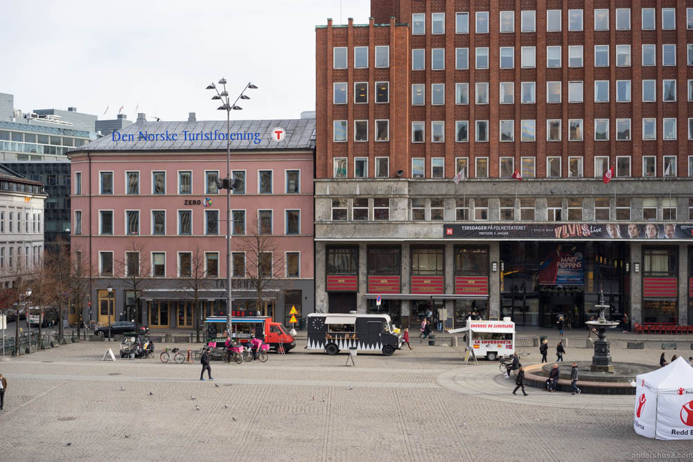 The food trucks of Youngstorget