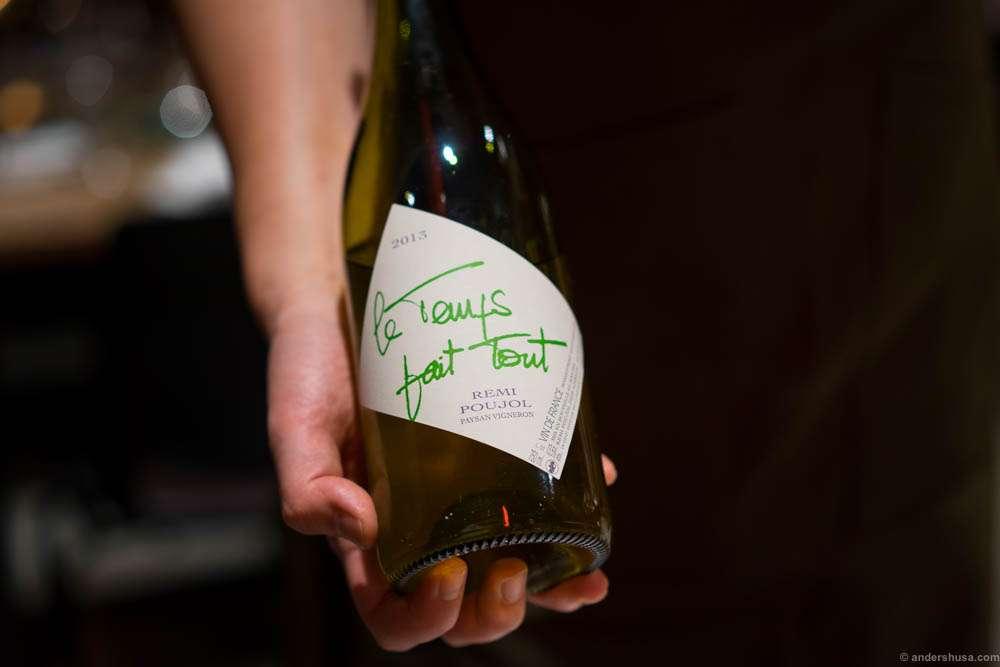 2013 Remi Poujol, Le Temps Fait Tout, Languedoc, France