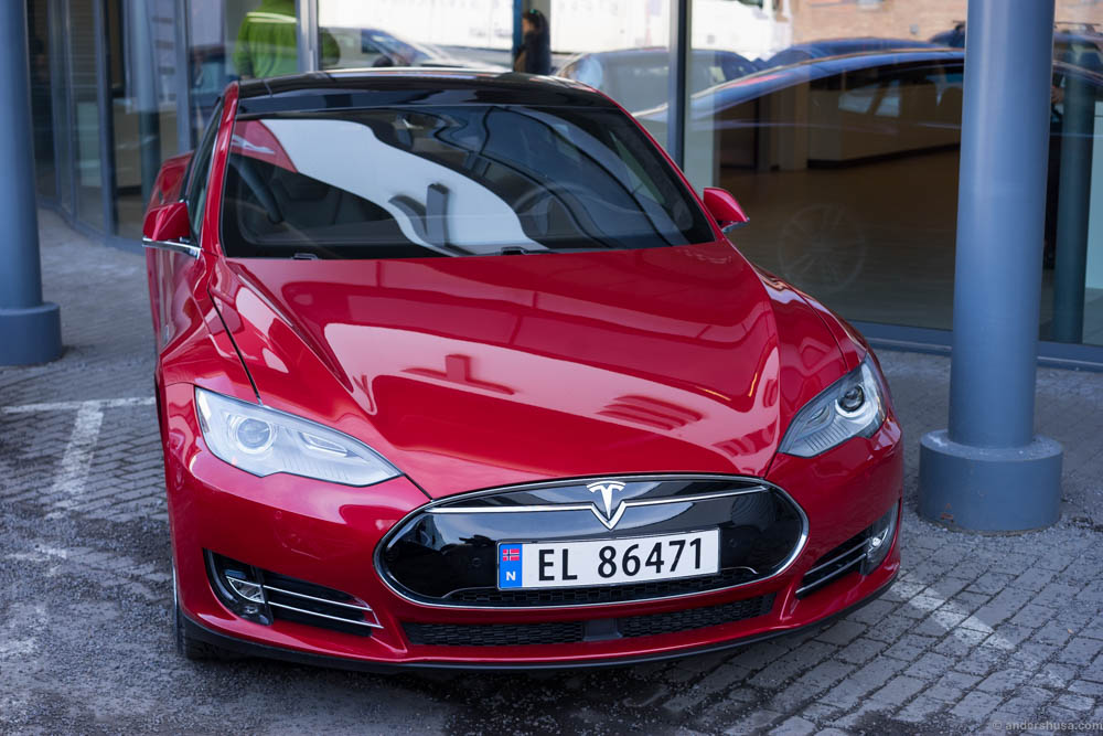 The vehicle of choice: Tesla Model S