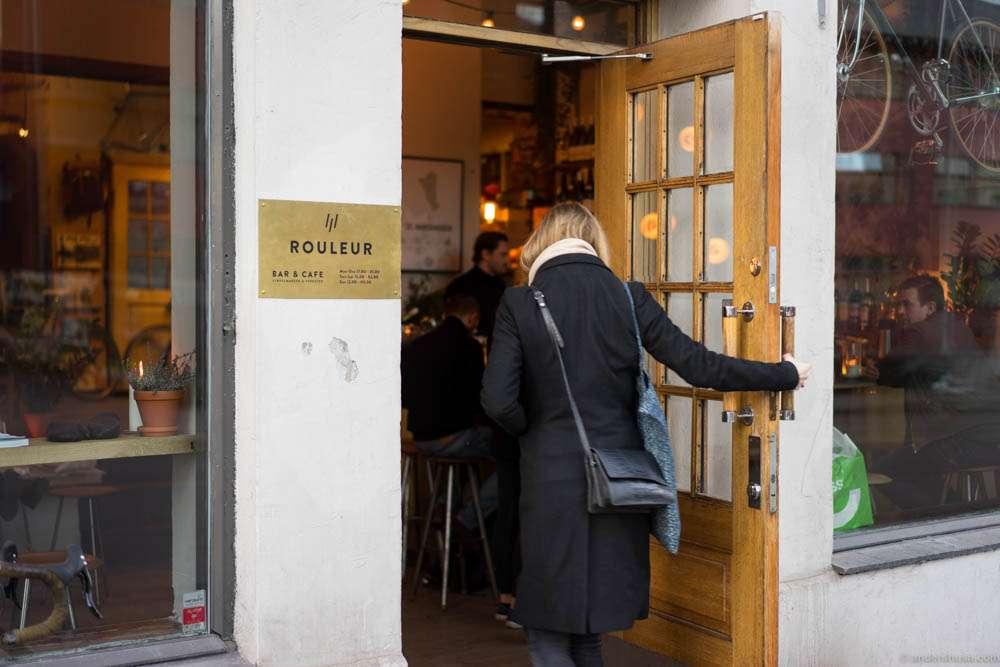 Rouleur is located at St. Hanshaugen. Around the corner from Smalhans
