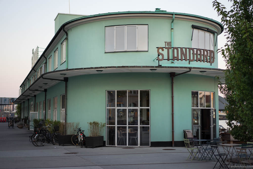 The Standard is an old building in art deco style