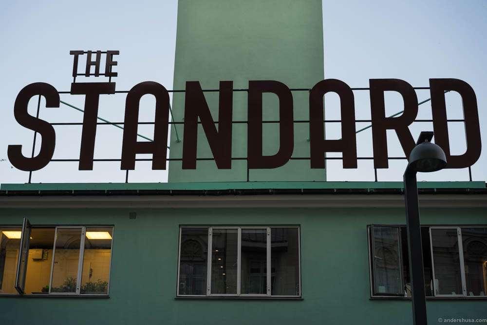 The Standard actually houses three restaurants: Studio, Almanak and Verandah