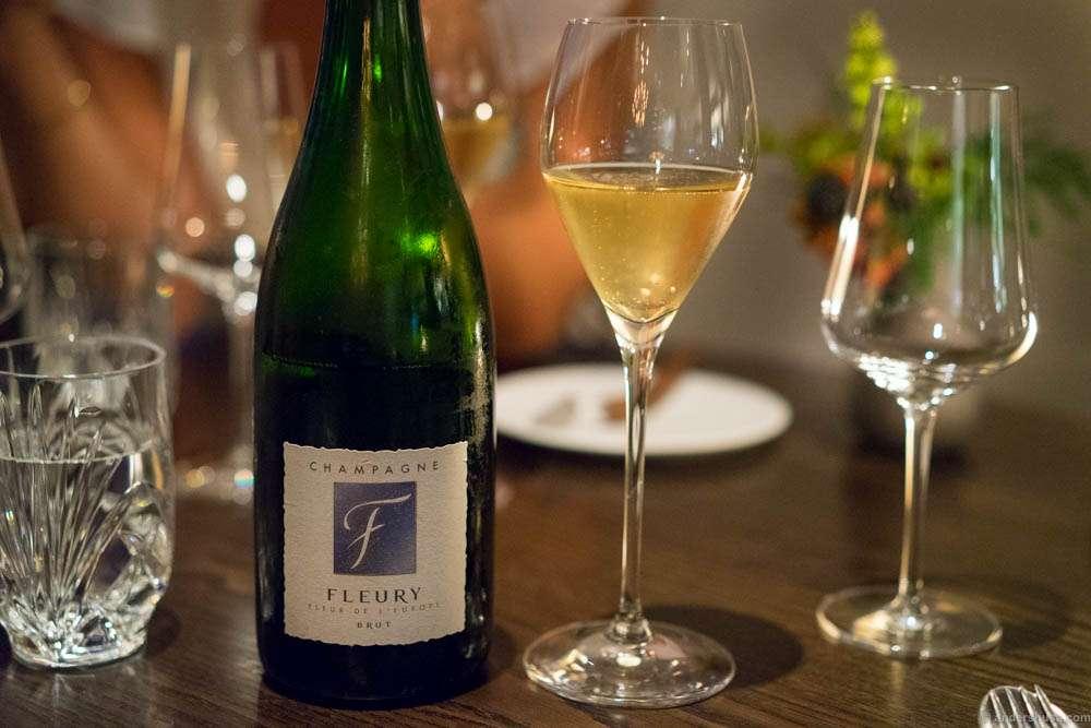 NV Fleury, Fleur de l'Europe (04/05), Champagne, France. One of my favorites