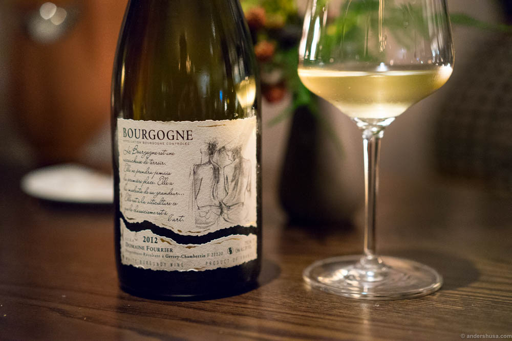 2013 Bourgogne Blanc, Domaine Fontaine-Gagnard, Bourgogne, France