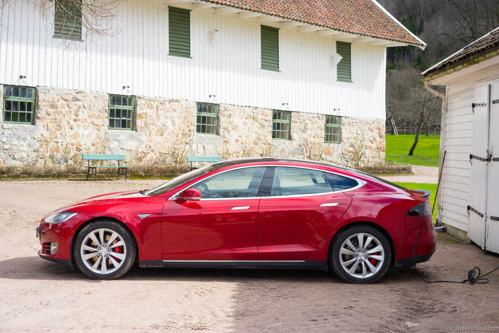 Our car for the occassion: Tesla Model S