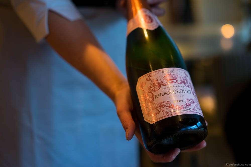 André Clouet, Grand Cru, Brut, Rose, Champagne