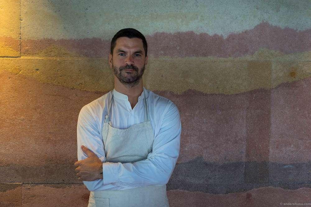Restaurant manager James Spreadbury