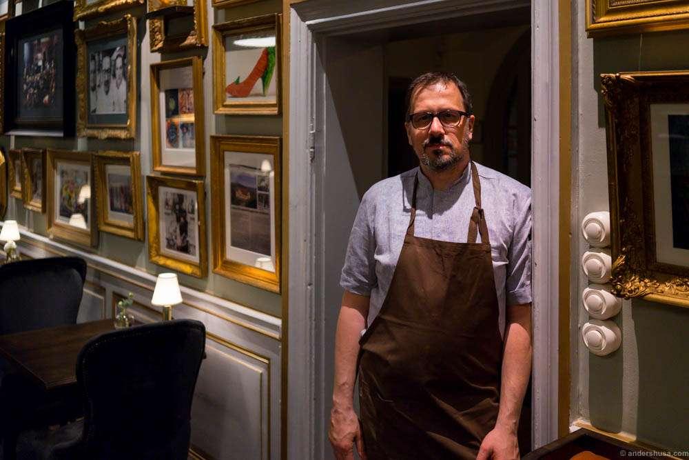 Head chef Stefan Ekengren