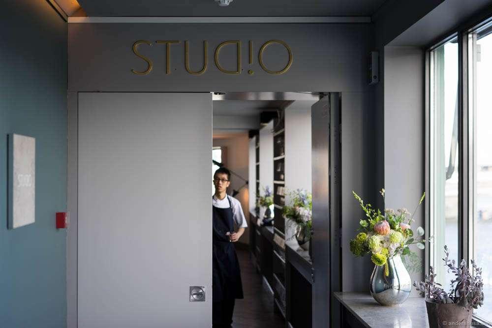 Enter the studio...