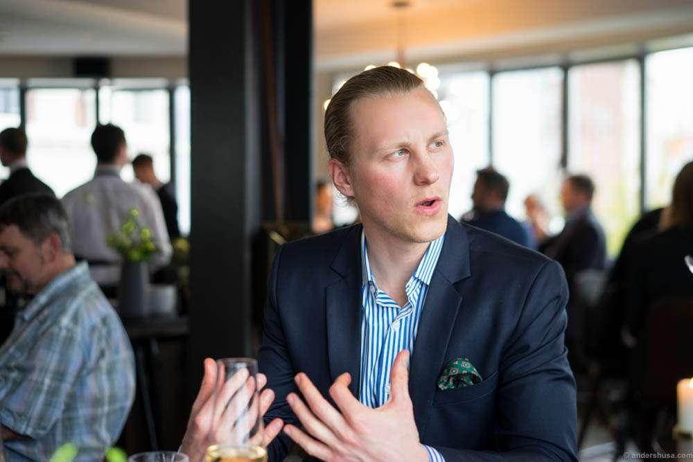 """The food blogger Rasmus Palsgård aka """"Feinschemeckeren"""""""