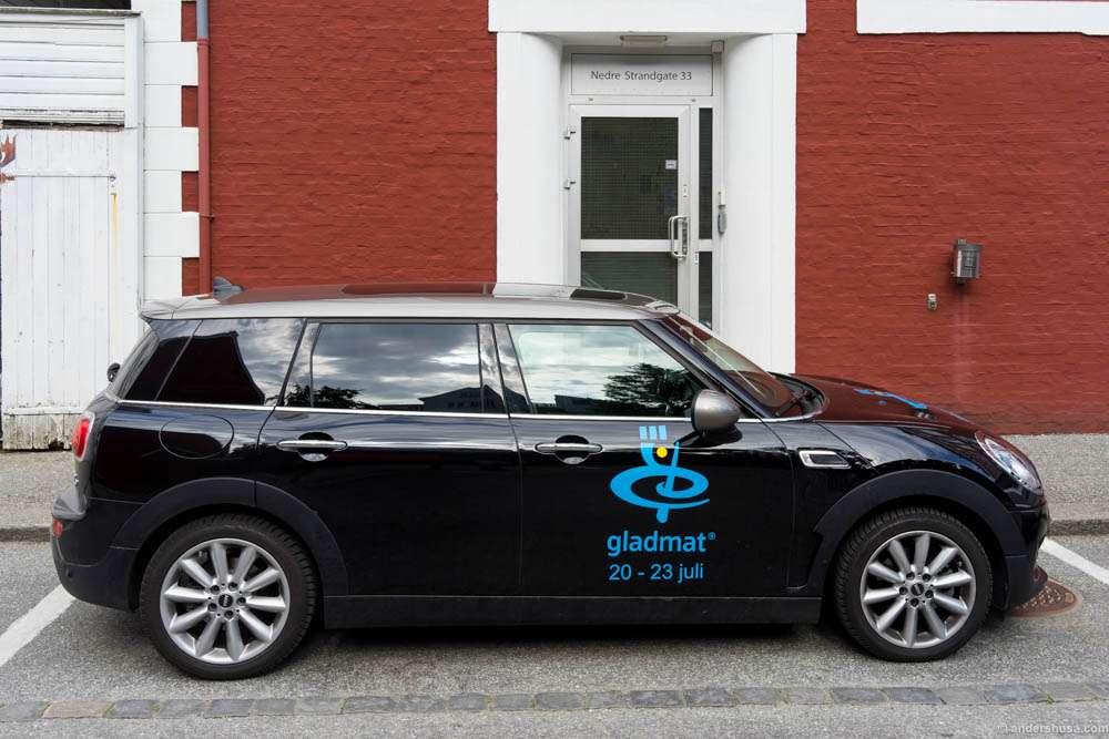 Our car these days: A Mini Bavaria