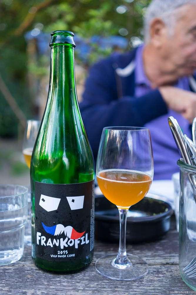 "2015 Æblerov, ""Frankofil"" – wild Danish cider"