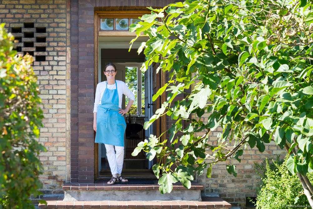 Katrine Klinken welcomed us into her house