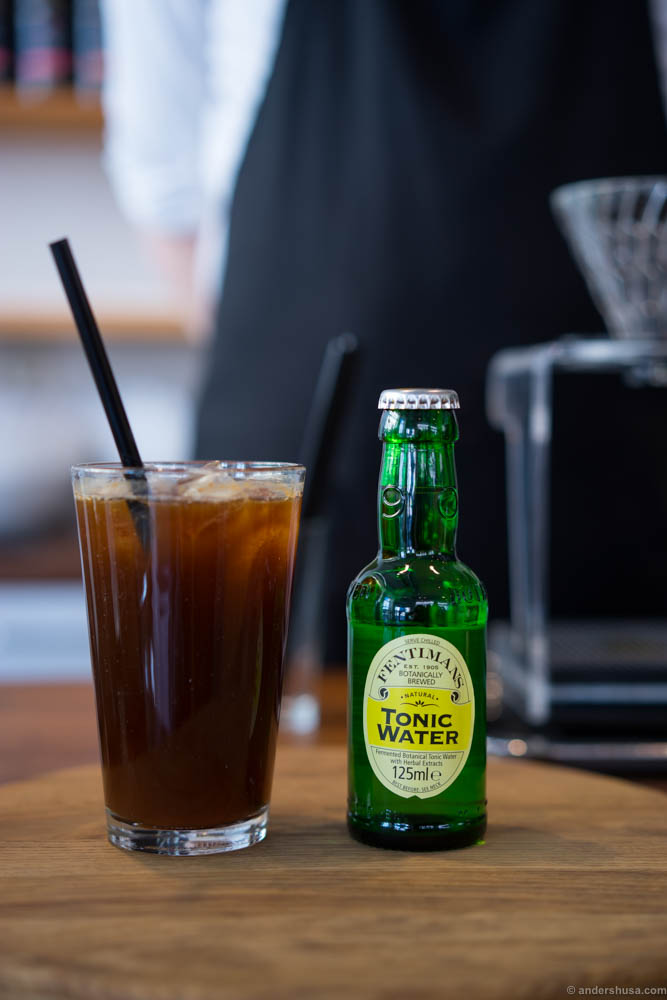 Stockfleth's Espresso tonic