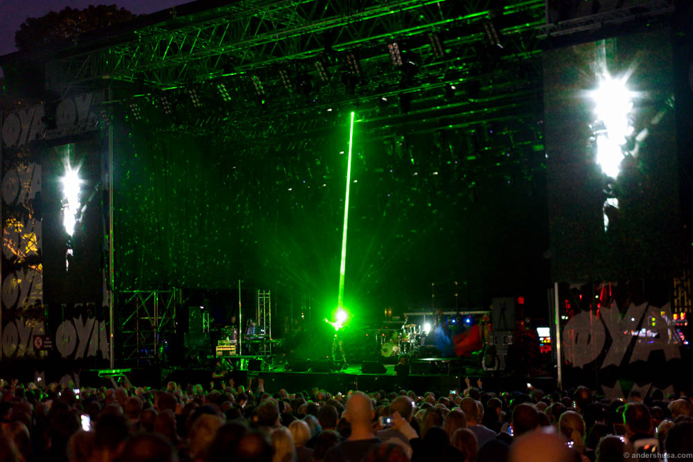 Grace Jones ended the Øya festival with a spectacular show
