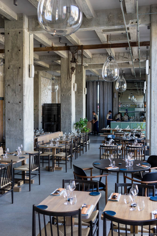 the awesome interior of 108 - Gray Restaurant 2016