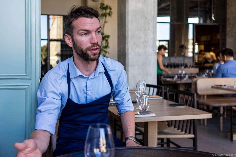 Restaurant manager Jacob Møller
