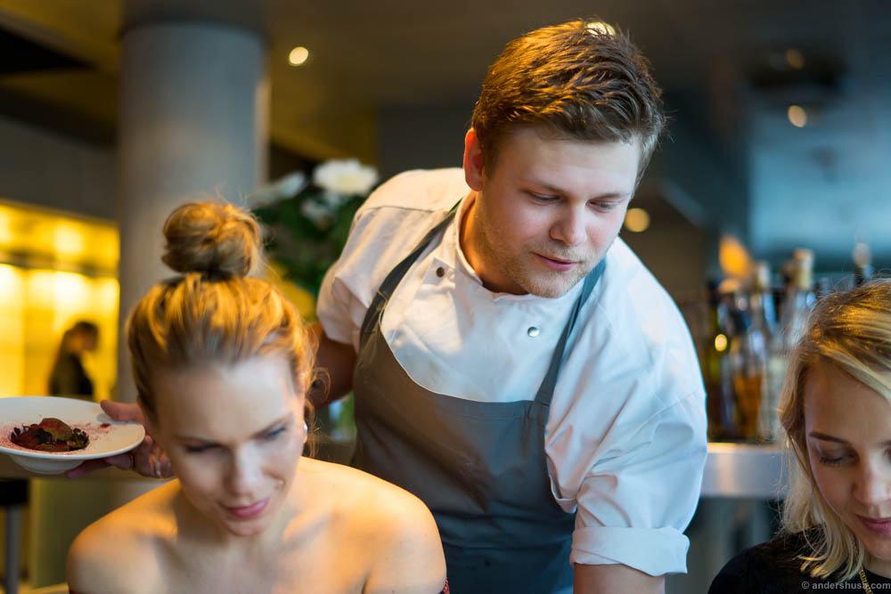 Head chef Casper Stuhr Sobczyk