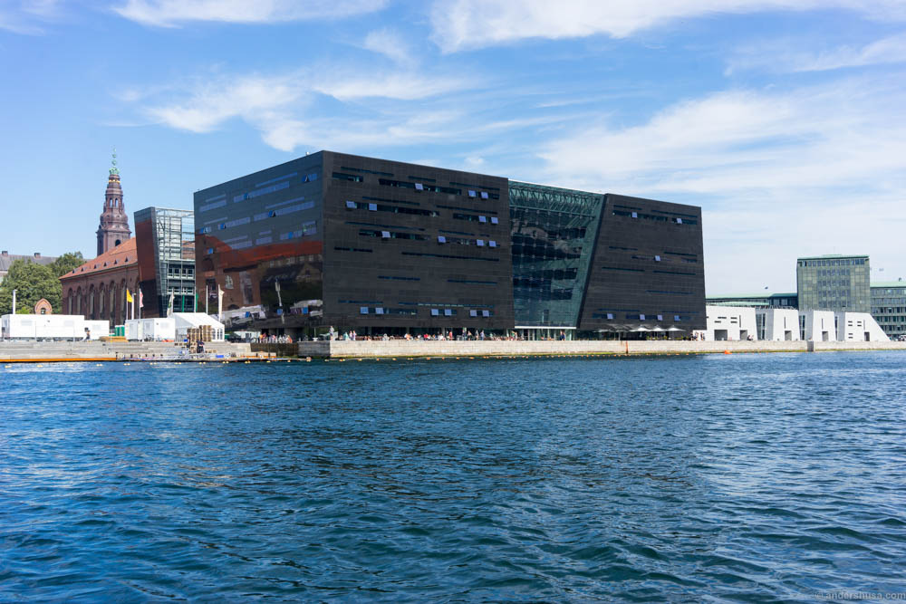 Søren K is located within the black diamond – the Royal Library