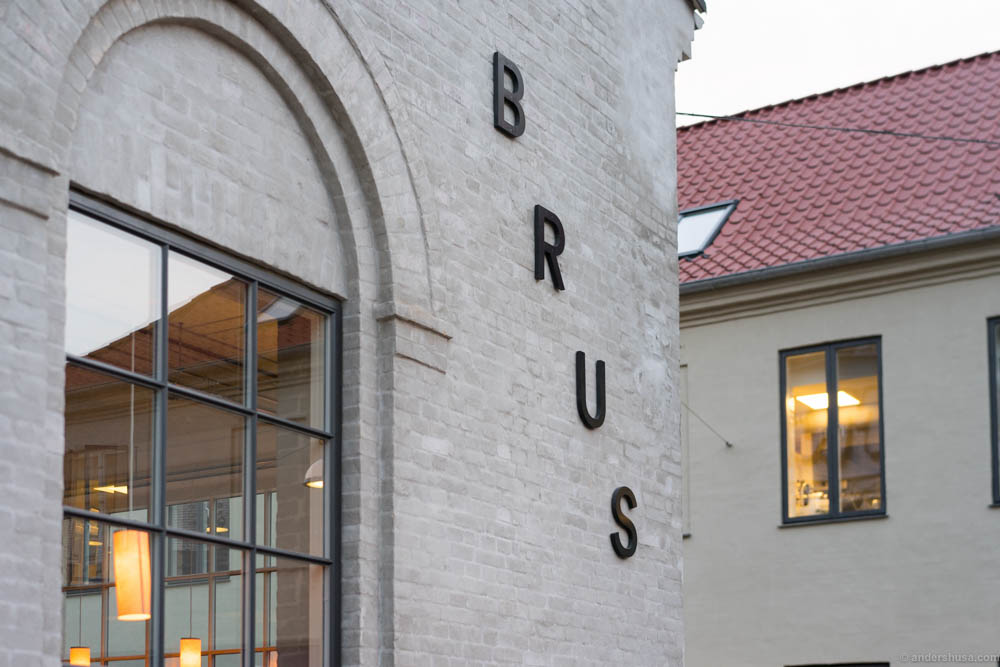 Tapperiet Brus – the brewery. Restaurant Spontan is inside
