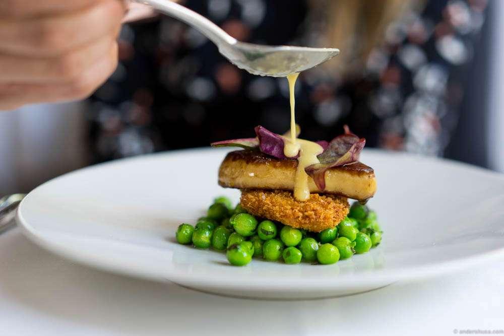 The foie gras