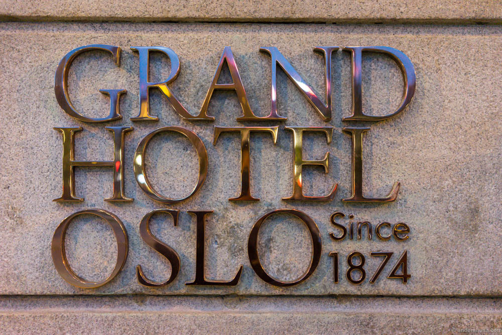 Grand Hotel Oslo Since 1874