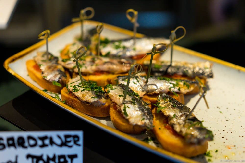 Txotx pintxos bar andershusa for Food bar oslo