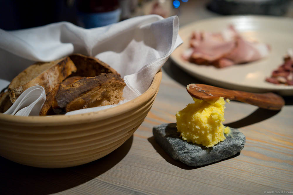 Fäviken's sourdough bread and butter
