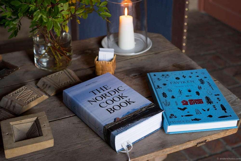 The cookbooks of Magnus Nilsson
