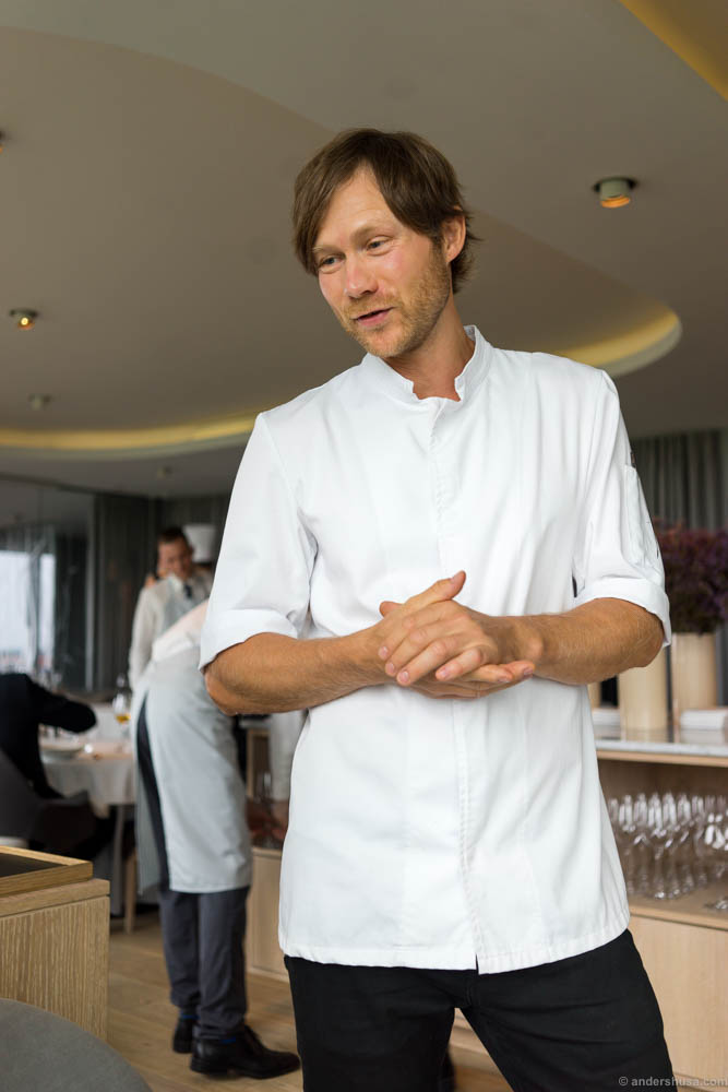 Head chef Rasmus Kofoed.