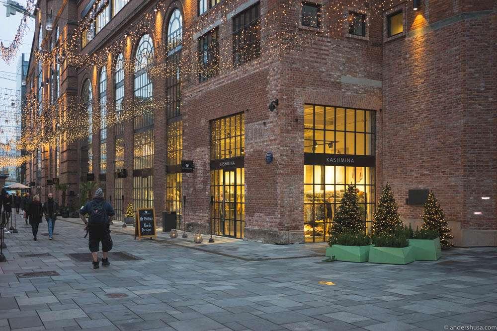 Aker Brygge Shopping