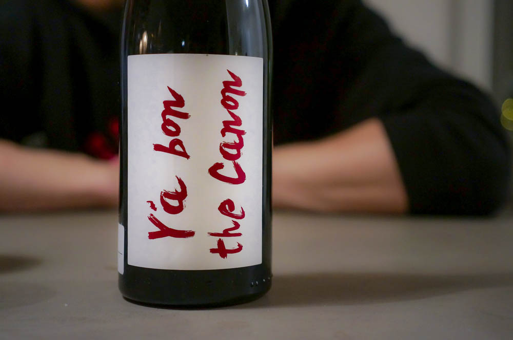 Y'a Bon the Canon, Ganevat. Photo: Linn Johnsen