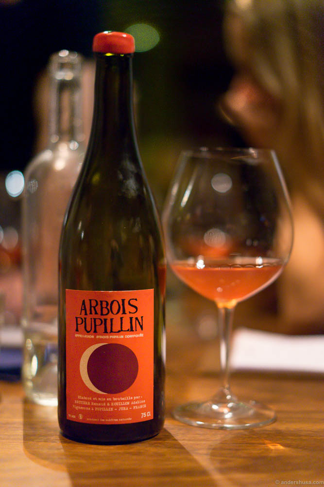 Arbois Pupillin, Poulsard, Bruyere-Houillon 2015
