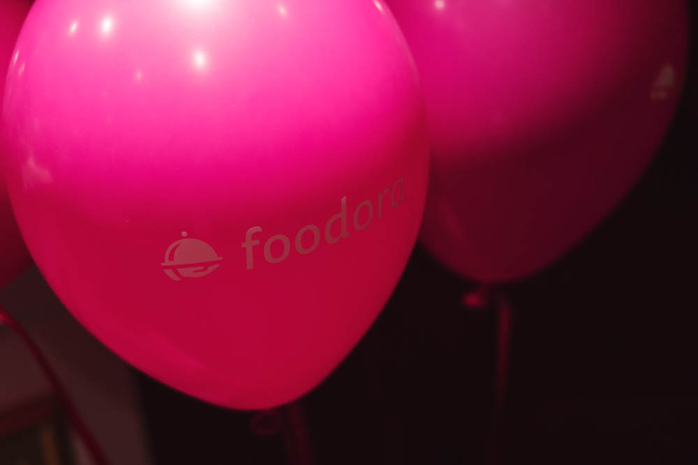 Foodora afterparty. Photo: Christian Zervos