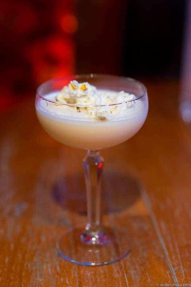 Popcorn Martini