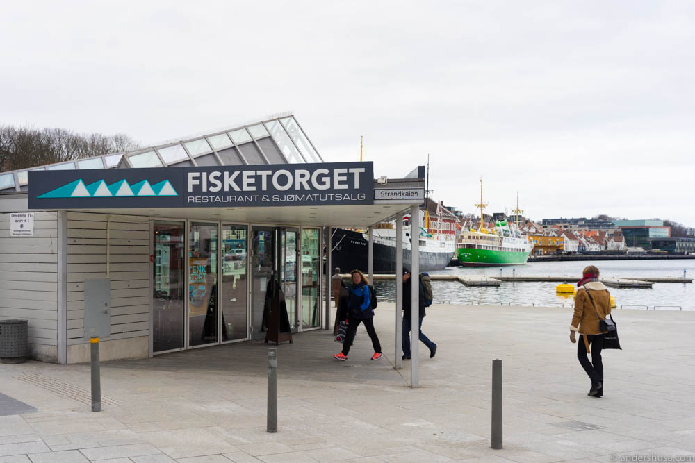 Fisketorget at Vågen in Stavanger