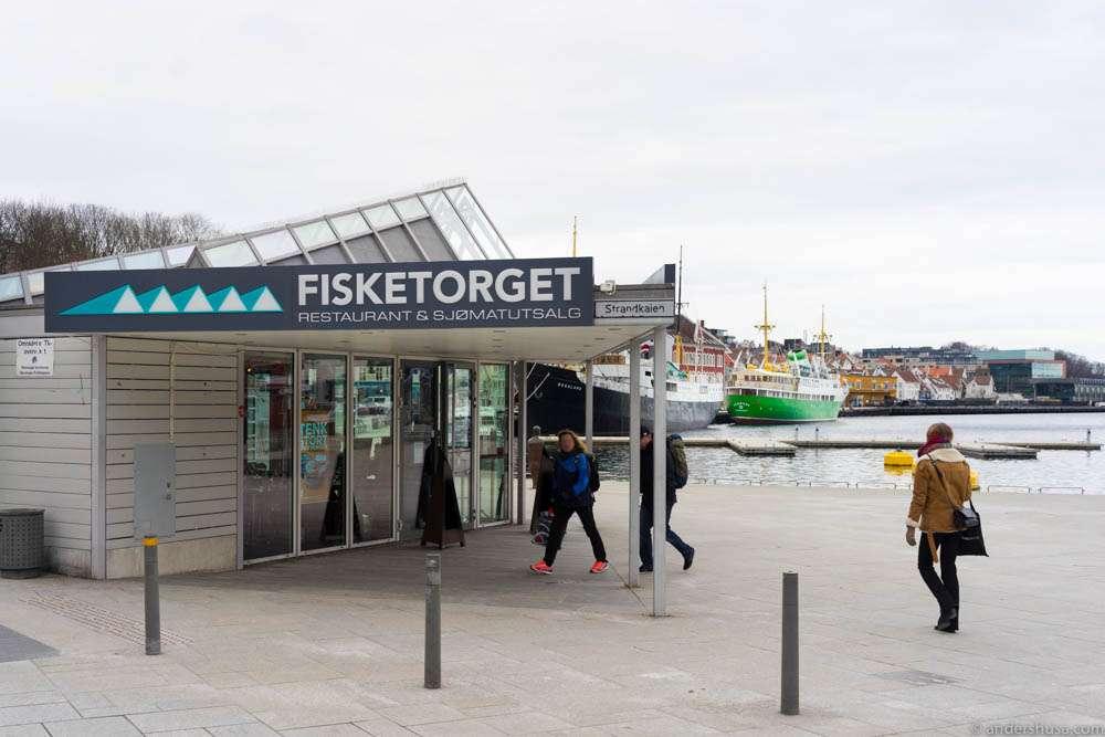 Fisketorget at Vågen in Stavanger