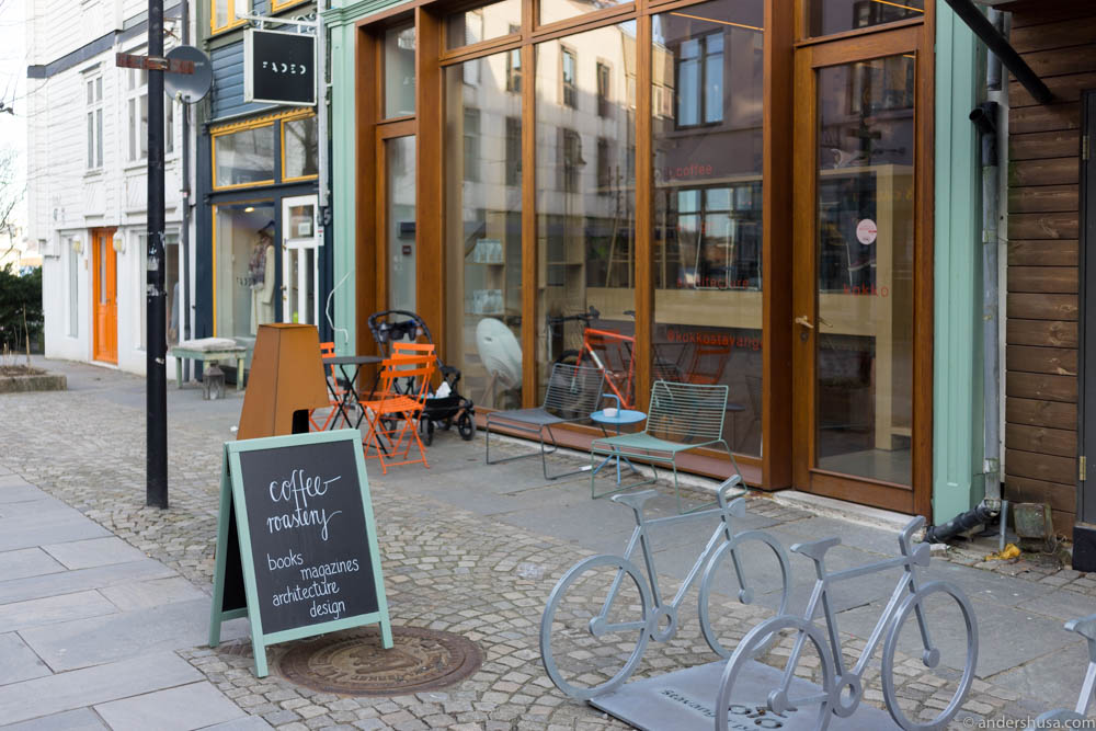 Kokko coffee bar roastery in stavanger andershusa for Food bar stavanger