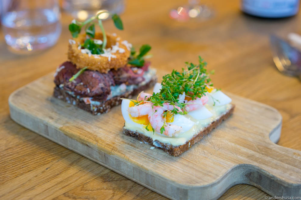 "The best damn Danish ""smørrebrød"" in Norway!"