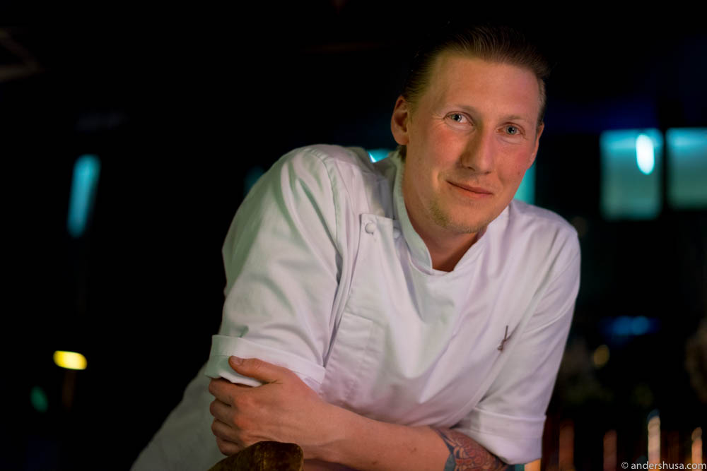 Head chef Johan Laursen