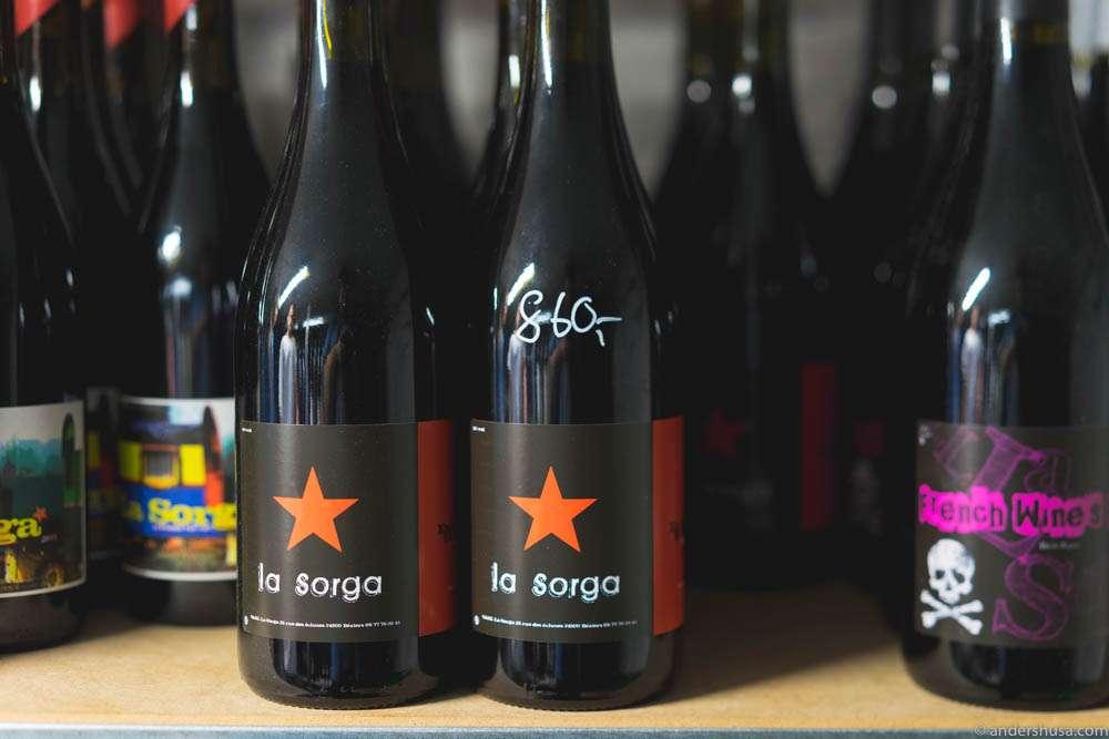 Natural wines from La Sorga.