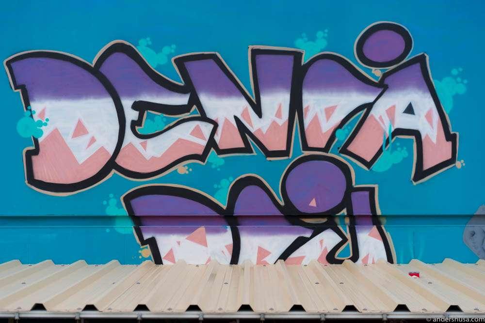 Dénia street art