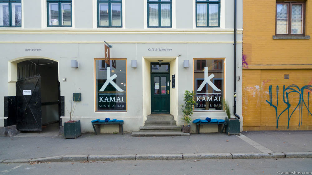 Kamai in situated in Korsgata at Grünerløkka, in case you want to pick up you own foodora order
