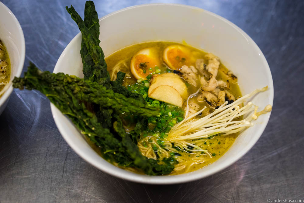 Ramen could be the next big wave to hit Oslo. Here from a recent pop-up by Hrímnir Ramen