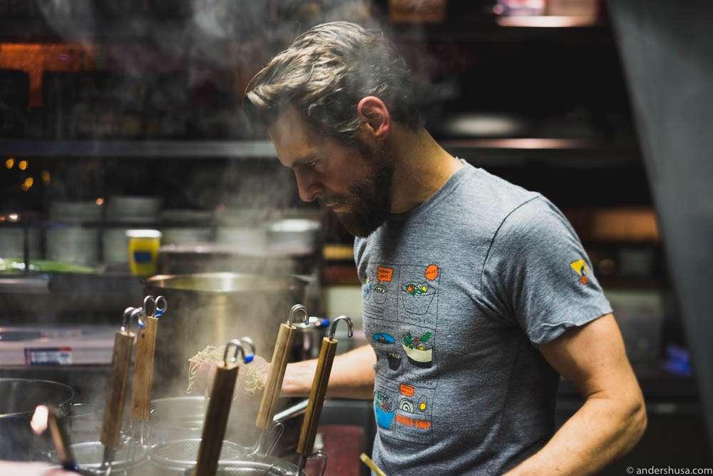 Hrímnir Ramen chef David Quist