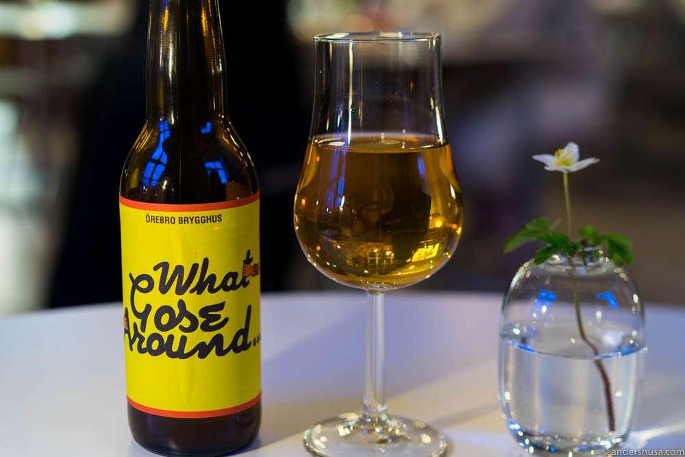 What Gose Around by Örebro Brewery