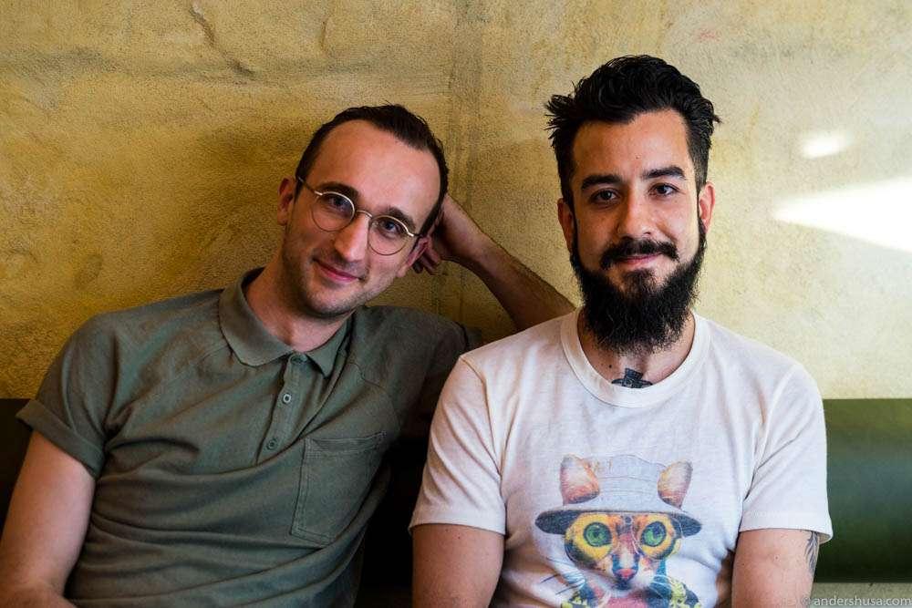 Adrian Fjell and Robin Sohrabi-Shiraz