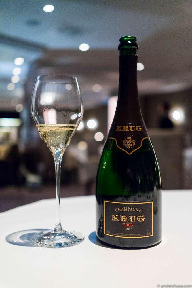 Krug Champagne, Vivacité Solaire, 2003.