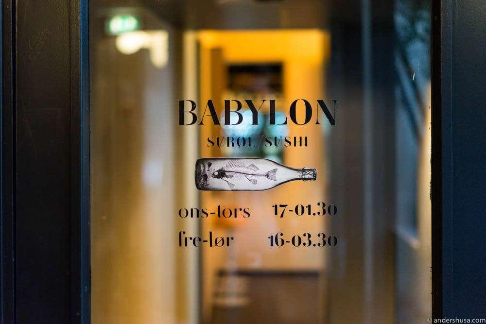 Babylon Surøl og Sushi