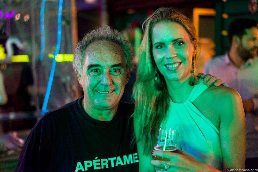 Ferran Adrià and Hedda
